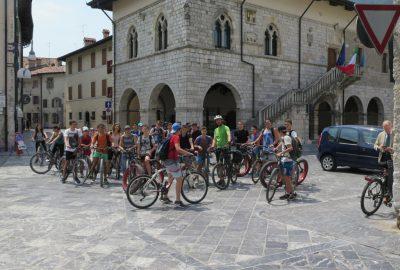 Gemona e Venzone in bici