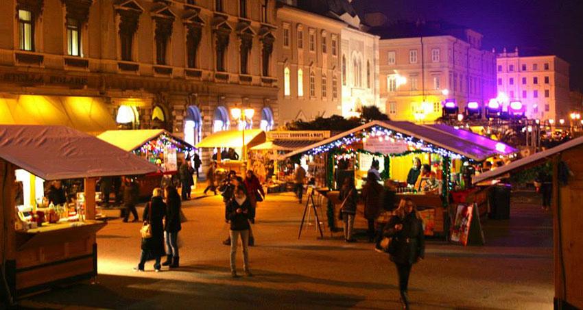 Trieste Natale Immagini.Natale Mercatini Trieste Lubiana Grado